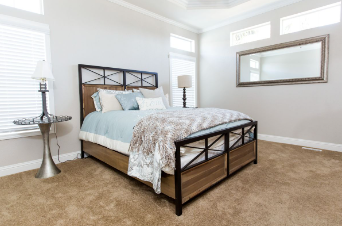 clayton golden west GLE528F Bedroom