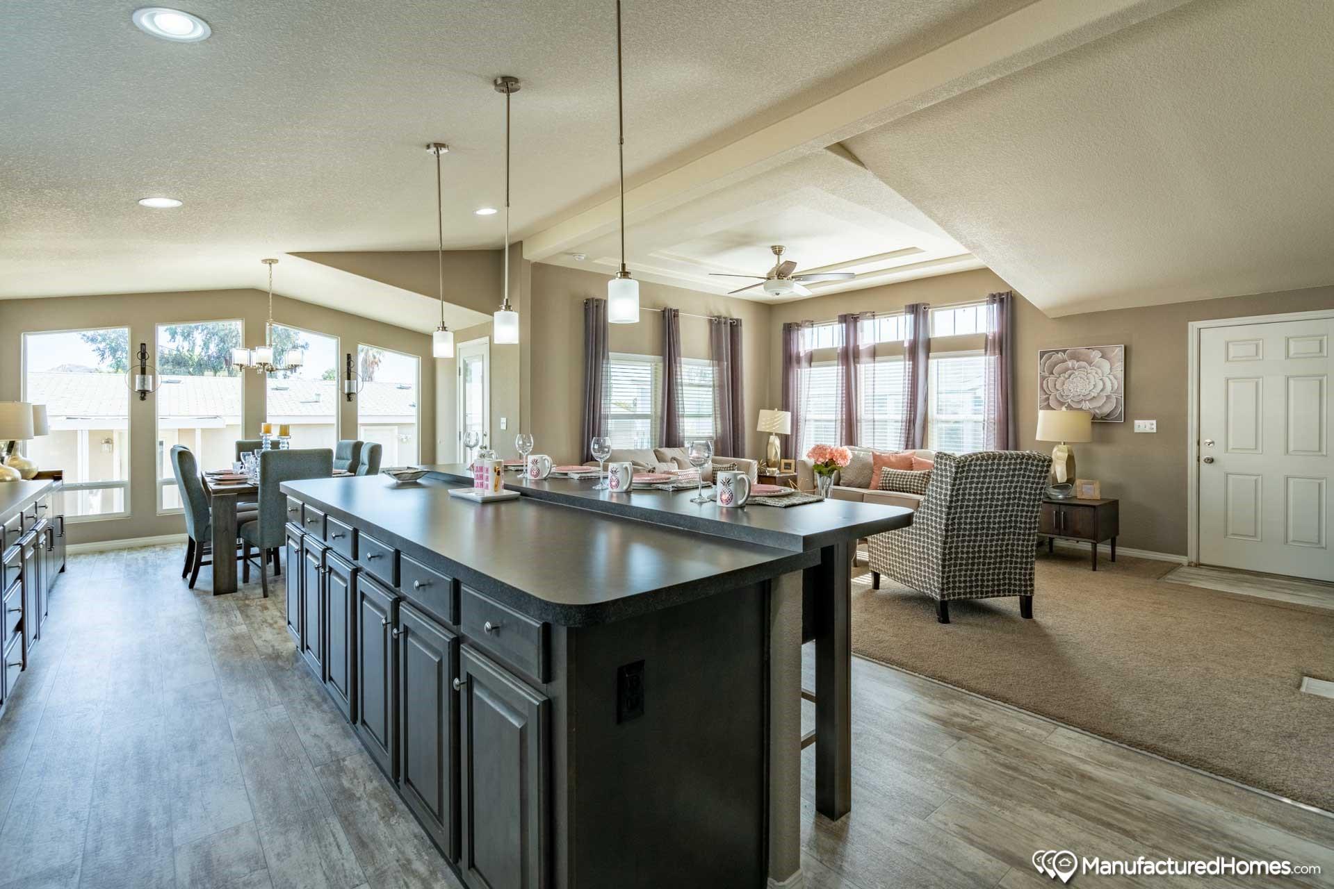 clayton golden west ck602F Kitchen Living