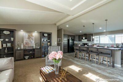 clayton golden west ck602F Living Kitchen