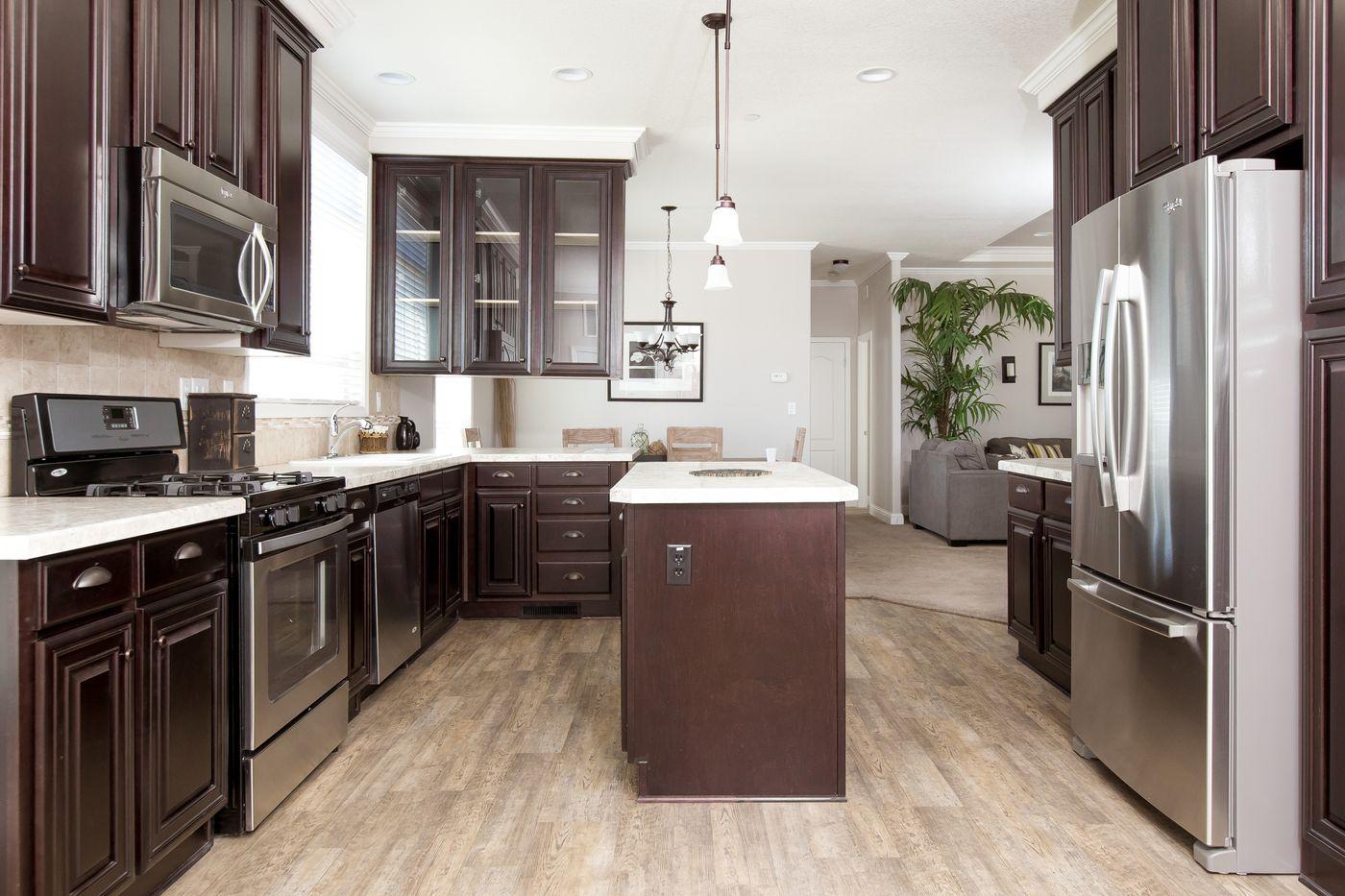 Clayton Golden West GLE562F Kitchen 1