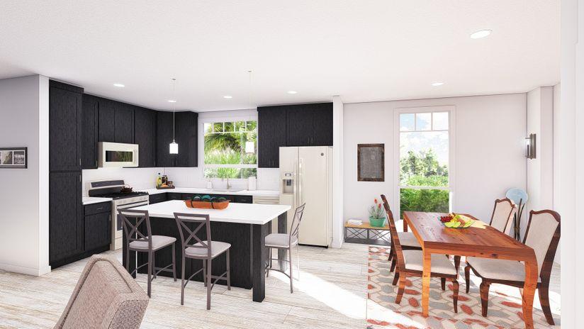 clayton golden west ff561f living Kitchen